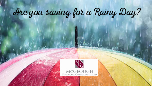 McGeough Financial Saving for a rainy day