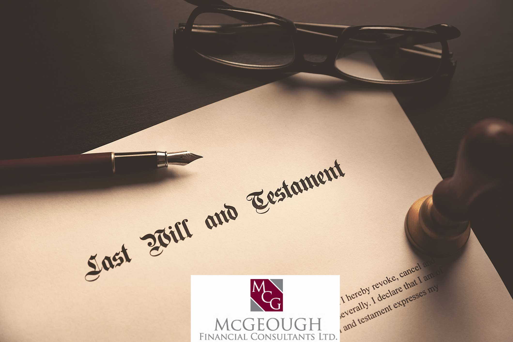Last Will & Testament McGeough Financial